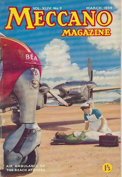 THE EDITOR - Meccano Magazine. March 1959