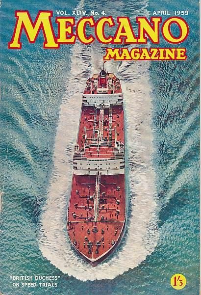 THE EDITOR - Meccano Magazine. April 1959
