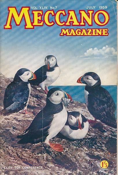 THE EDITOR - Meccano Magazine. July 1959