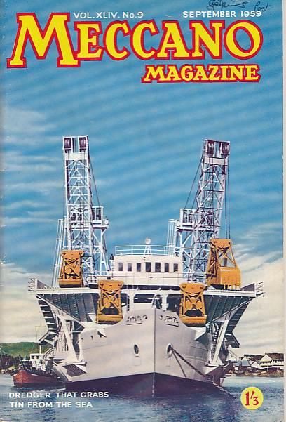 THE EDITOR - Meccano Magazine. September 1959