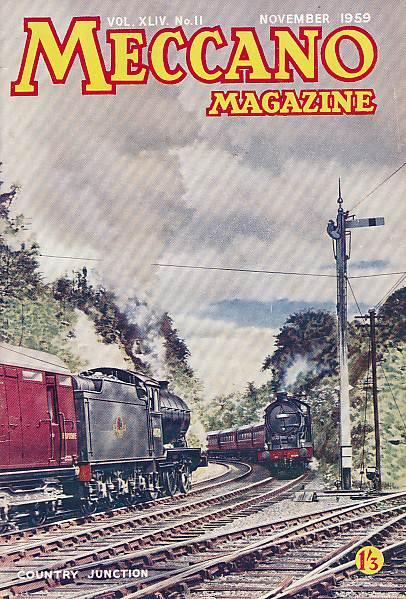 THE EDITOR - Meccano Magazine. November 1959