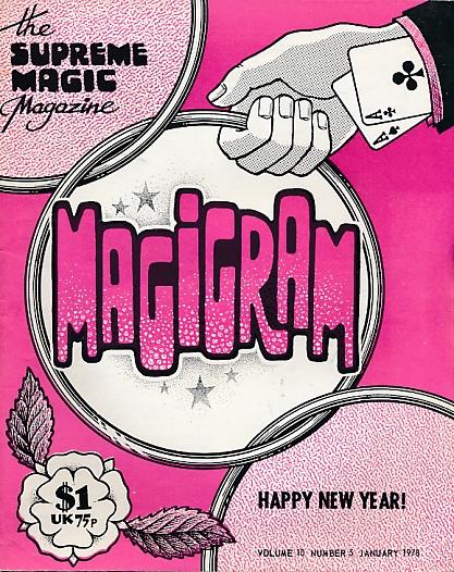 DE COURCY, KEN [ED.] - The Magigram. Volume 10 No. 5. January 1978