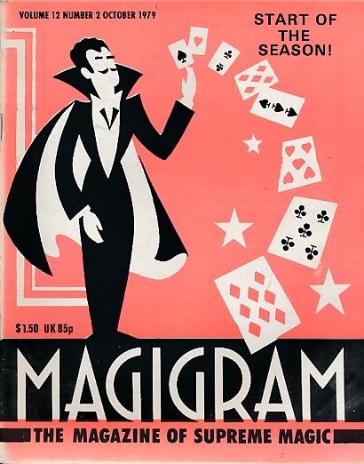 DE COURCY, KEN [ED.] - The Magigram. Volume 12 No. 2. October 1979