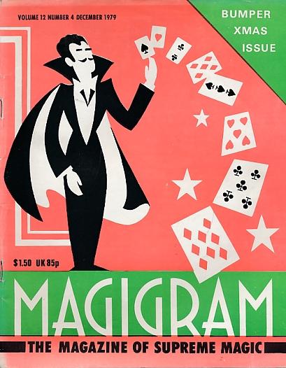DE COURCY, KEN [ED.] - The Magigram. Volume 12 No. 4. December 1979