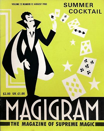 DE COURCY, KEN [ED.] - The Magigram. Volume 12 No. 12. August 1980
