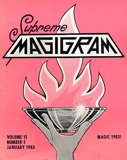 DE COURCY, KEN [ED.] - The Magigram. Volume 15 No. 5. January 1983