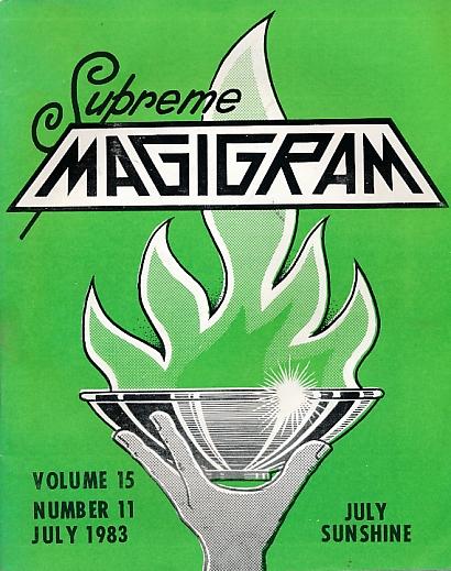 DE COURCY, KEN [ED.] - The Magigram. Volume 15 No. 11. July 1983