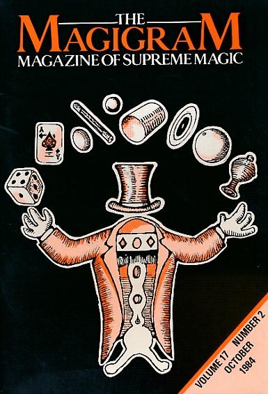 DE COURCY, KEN [ED.] - The Magigram. Volume 17 No. 2. October 1984