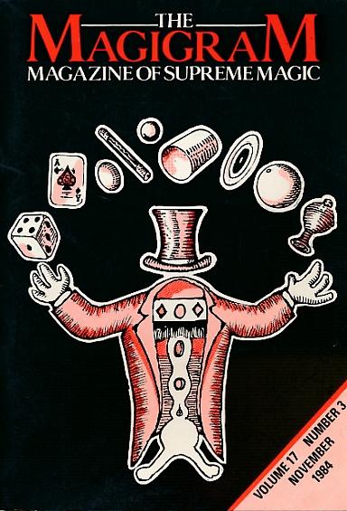DE COURCY, KEN [ED.] - The Magigram. Volume 17 No. 3. November 1984