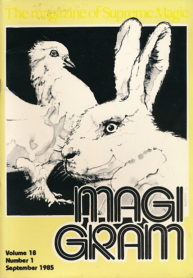 DE COURCY, KEN [ED.] - The Magigram. Volume 18 No. 1. September 1985