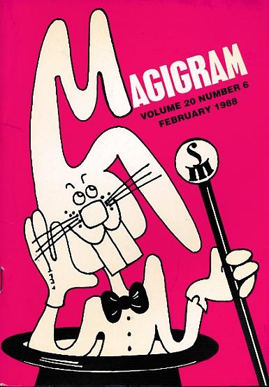 DE COURCY, KEN [ED.] - The Magigram. Volume 20 No. 6. February 1988
