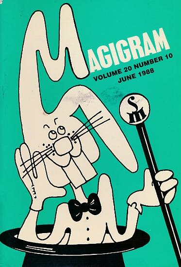 DE COURCY, KEN [ED.] - The Magigram. Volume 20 No. 10. June 1988