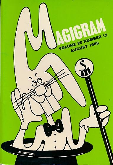 DE COURCY, KEN [ED.] - The Magigram. Volume 20 No. 12. August 1988