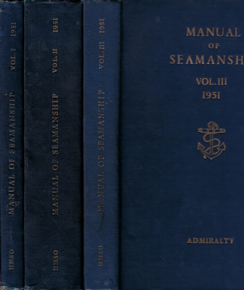 admiralty manual of seamanship volume 2