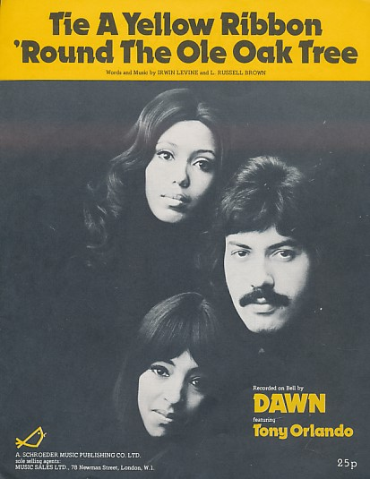 LEVINE, IRWIN; BROWN, L RUSSELL - Tie a Yellow Ribbon 'Round the Ole Oak Tree