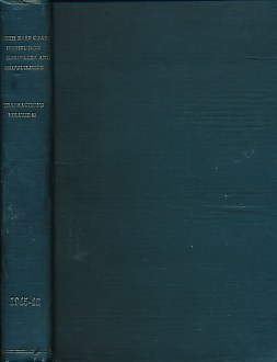 NICOL, T S [ED.] - Transactions of the North-East Coast Institution of Engineers & Shipbuilders. Volume 62. Sixty-Second Session 1945-46