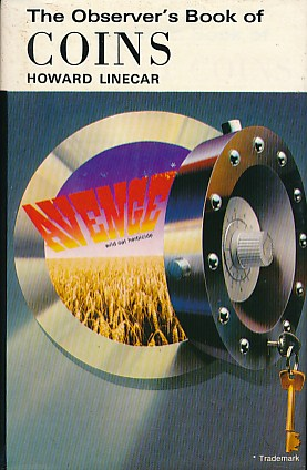 LINECAR, HOWARD - The Observer's Book of Coins. 1980. Cyanamid Jacket