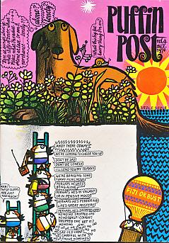 EDITOR - Puffin Post. Vol 4 No 2. 1970
