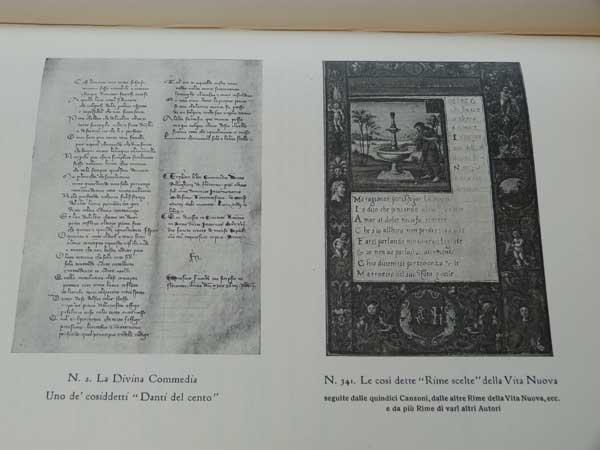 [BERTIERI E VANZETTI] - Catalogo Della Mostra Dantesca Alla Medicea Laurenziana Nell'Anno MCMXXI in Firenze. Limited Edition