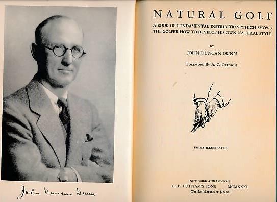 DUNN, JOHN DUNCAN - Natural Golf