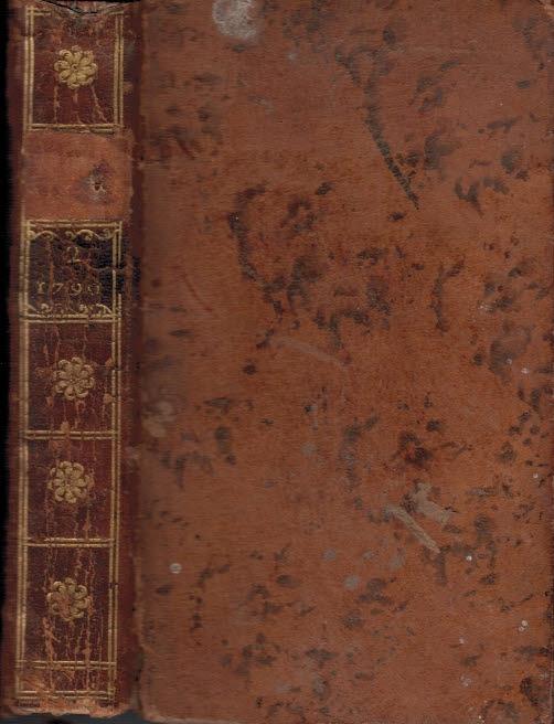[CHEZ BUSSON] - Bibliotheque Physio-Economique, Instructive Et Amusante. Annee 1790. Tome II (Only)