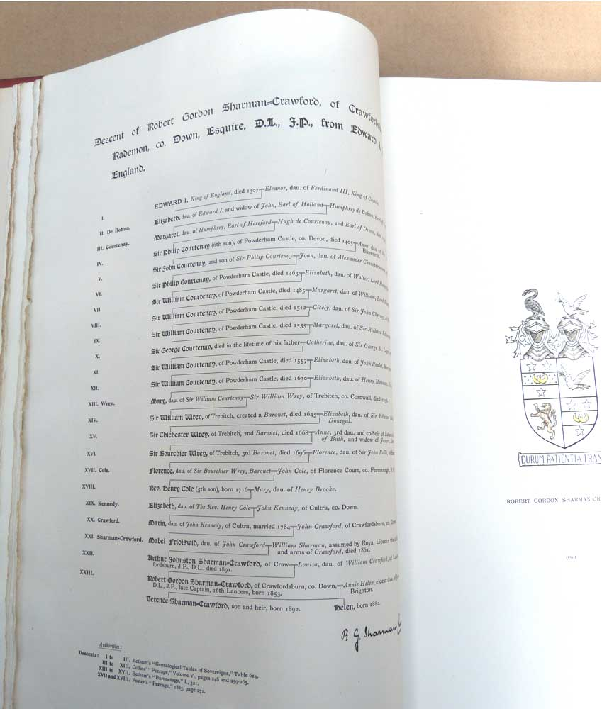 J.R.S.G. [EDWARD RALPH SEROCOLD SKEELS] - A Portfolio of Royal Descents