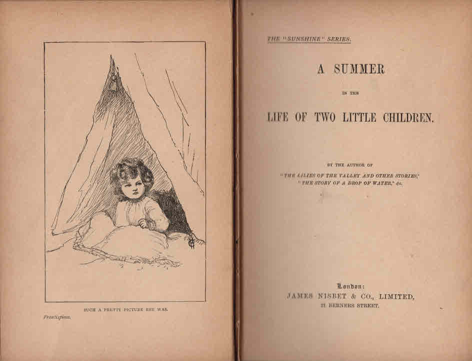 LONG, LADY CATHERINE - A Summer in the Life of Two Little Children