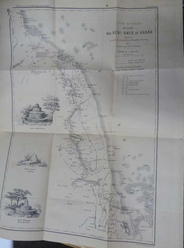 EDITOR - Bulletin Trimestriel de la Societe Khediviale de Geographie Du Caire