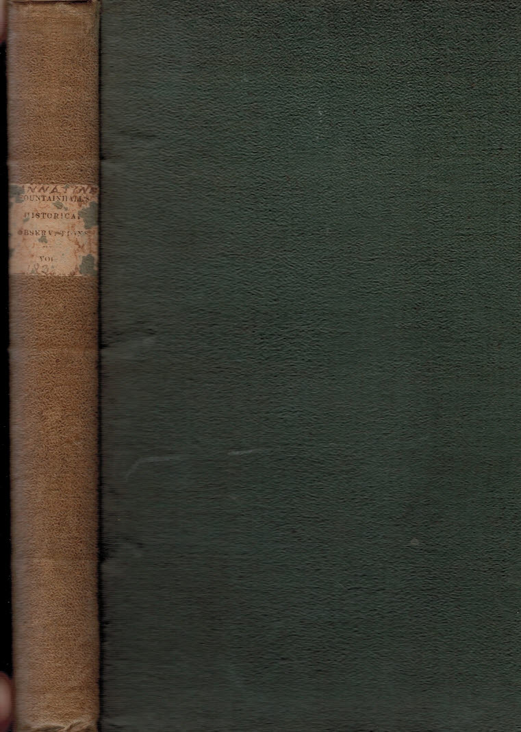 EDITOR - Historical Selections from the Manuscripts of Sir John Lauder of Fountainhall, One of the Senators of the College of Justice. Volume First, Historical Observations, 1680-1686