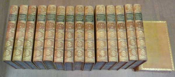 COWPER, WILLIAM; SOUTHEY, ROBERT [ED.] - The Works of William Cowper Esq Comprising His Poems, Correspondence, and Translations. 15 Volume Set