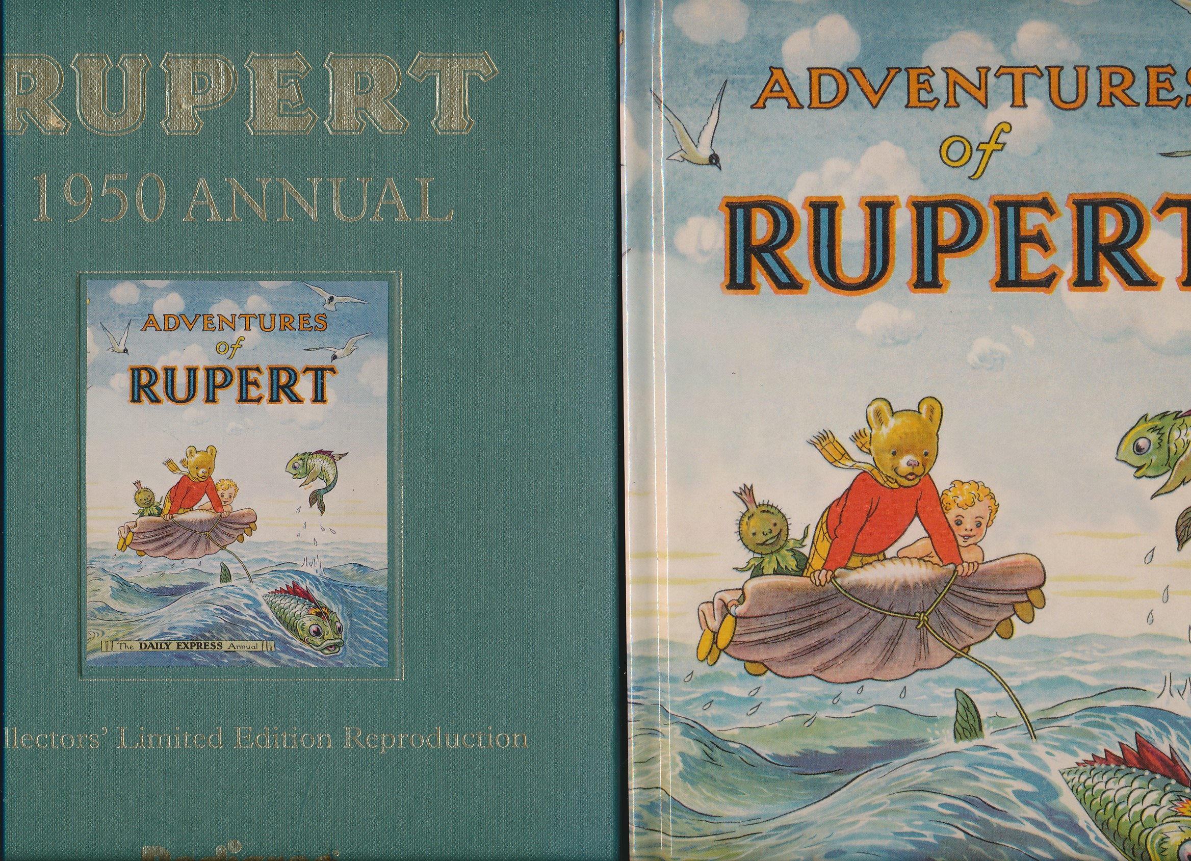 [TOURTEL, MARY] - More Rupert Adventures [Rupert Annual 1950] Facsimile Edition