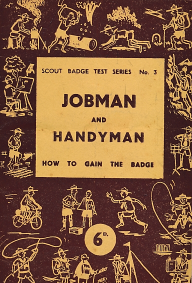 EDITOR - Jobman and Handyman. Scout Badge Test Series No. 3