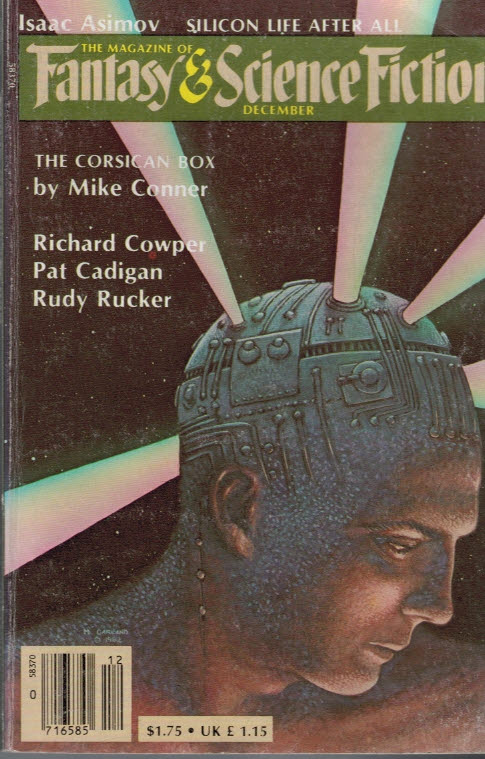 COWPER, RICHARD; CONNER, MIKE; &C.; FERMAN, EDWARD L [ED] - The Magazine of Fantasy and Science Fiction. Volume 63 No 6. December 1982
