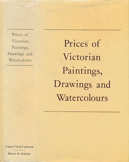 NAHUM, PETER, [ED.] - Prices of Victorian Paintings, Drawings and Watercolours from the Records of Sotheby's Belgravia