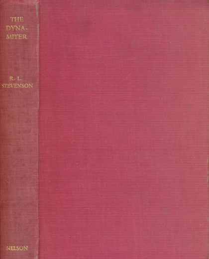 STEVENSON, ROBERT LOUIS - The Dynamiter. Pocket Edition
