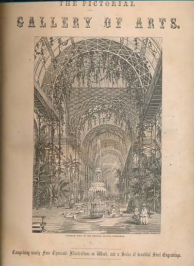 [KNIGHT] - The Pictorial Gallery of Arts: Useful Arts; Fine Arts. 2 Volume Set