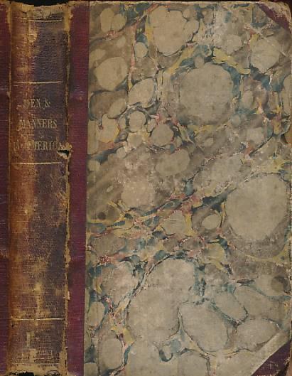 [HAMILTON, THOMAS] - Men and Manners in America. Volume I