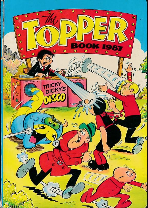NIXON, ROBERT; MARTIN, GEORGE; DALLAS, JOHN; &C - The Topper Book 1987