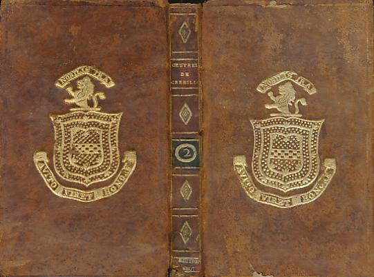 CREBILLON, PROSPER JOLYOT DE - Rhadamistre Et Zenobie + Xerxes + Semiramis. Oeuvres de Crebillon. Tome Second. Edition Stereotype