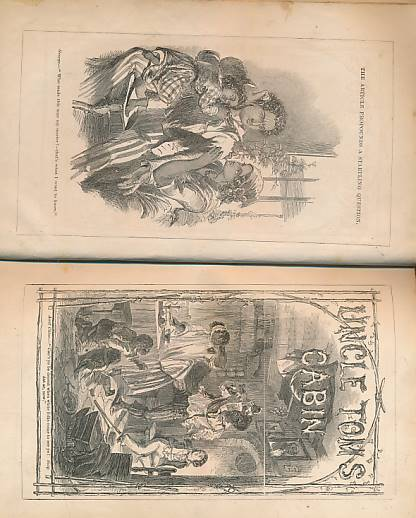 [STOWE, HARRIET BEECHER] - Uncle Tom's Cabin; or, Negro Life in the Slave States of America. Clarke Edition