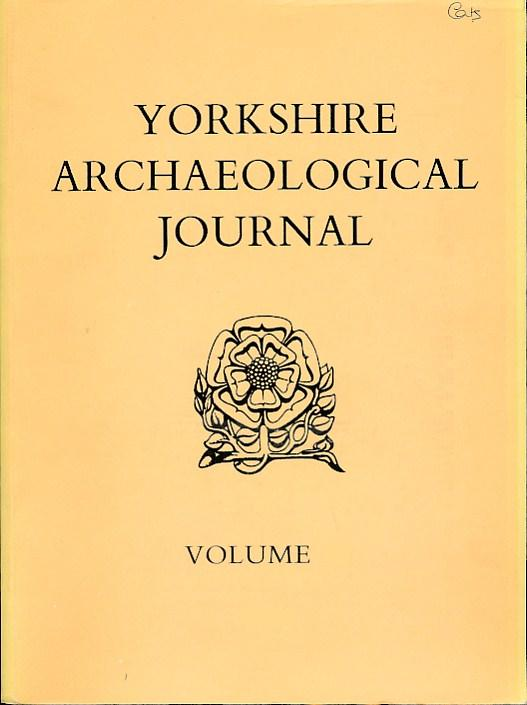 EDITOR - The Yorkshire Archaeological Journal. 1996. Vol. 68