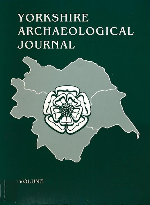 EDITOR - The Yorkshire Archaeological Journal. 2001. Vol. 73