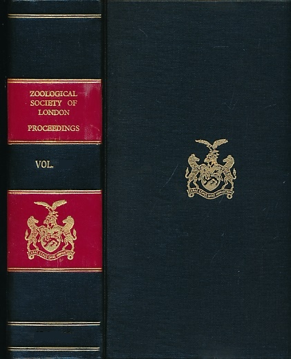 THE ZOOLOGICAL SOCIETY OF LONDON - Proceedings of the Zoological Sociey of London. Volume 174. September-December 1974